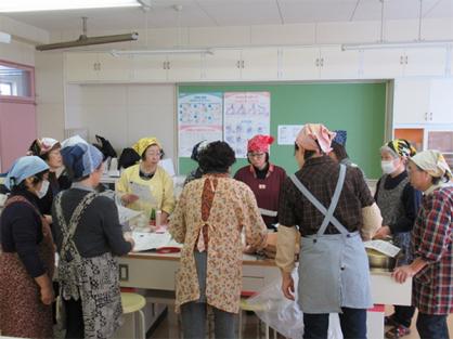 JA女性部の大豆サークルが料理講習会を実施しました。