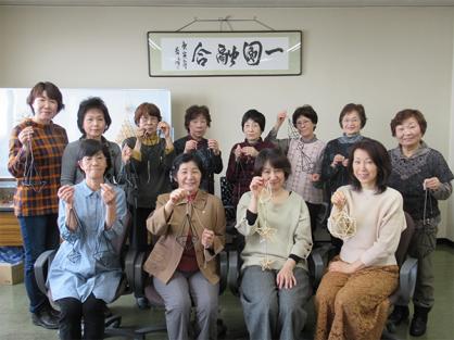 女性部ヒンメリ講習会を実施しました。
