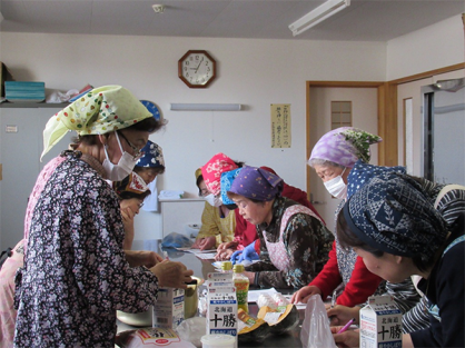 大豆加工サークルが「乳和食料理講習会」を実施しました!