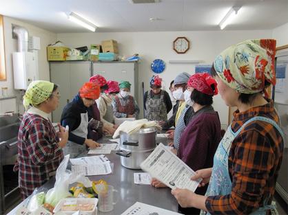 大豆加工サークル 料理講習会を開催!