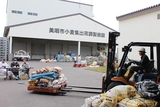 農業用廃プラスチック類回収