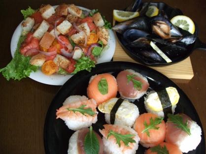 手まり寿司(4人分)